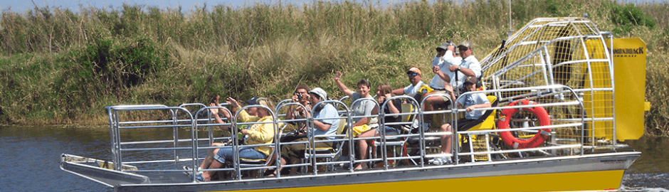 New Orleans Airboat Swamp Tour With Transportation